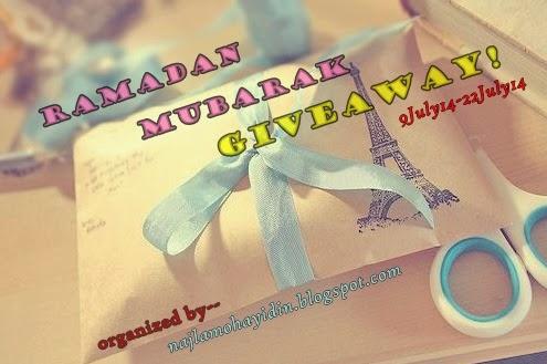 http://najlamohayidin.blogspot.com/2014/07/giveaway-sulung-by-me-ramadan-mubarak.html