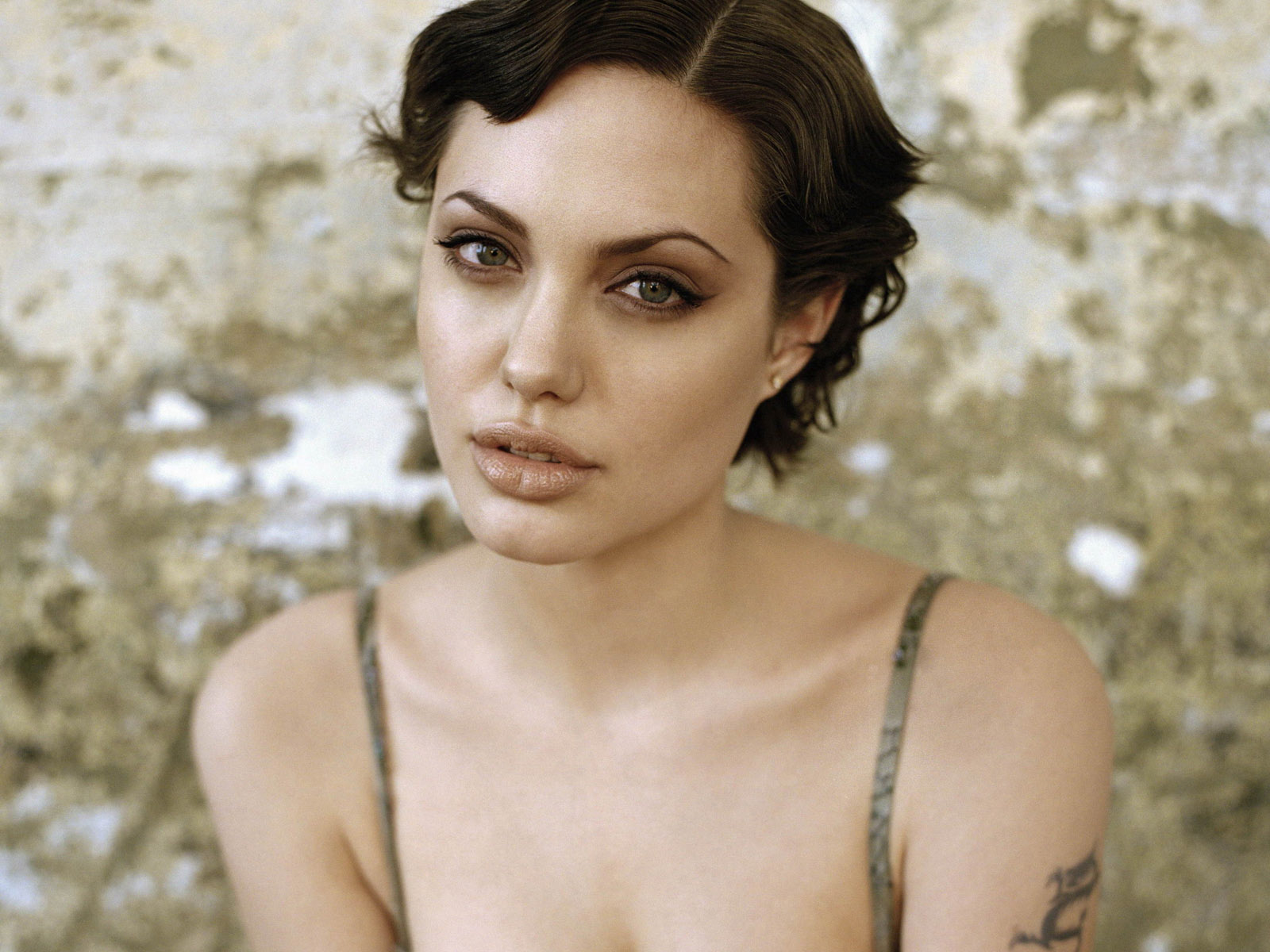 Celebrity Hairstyle Angelina Jolie Short Hairstyles