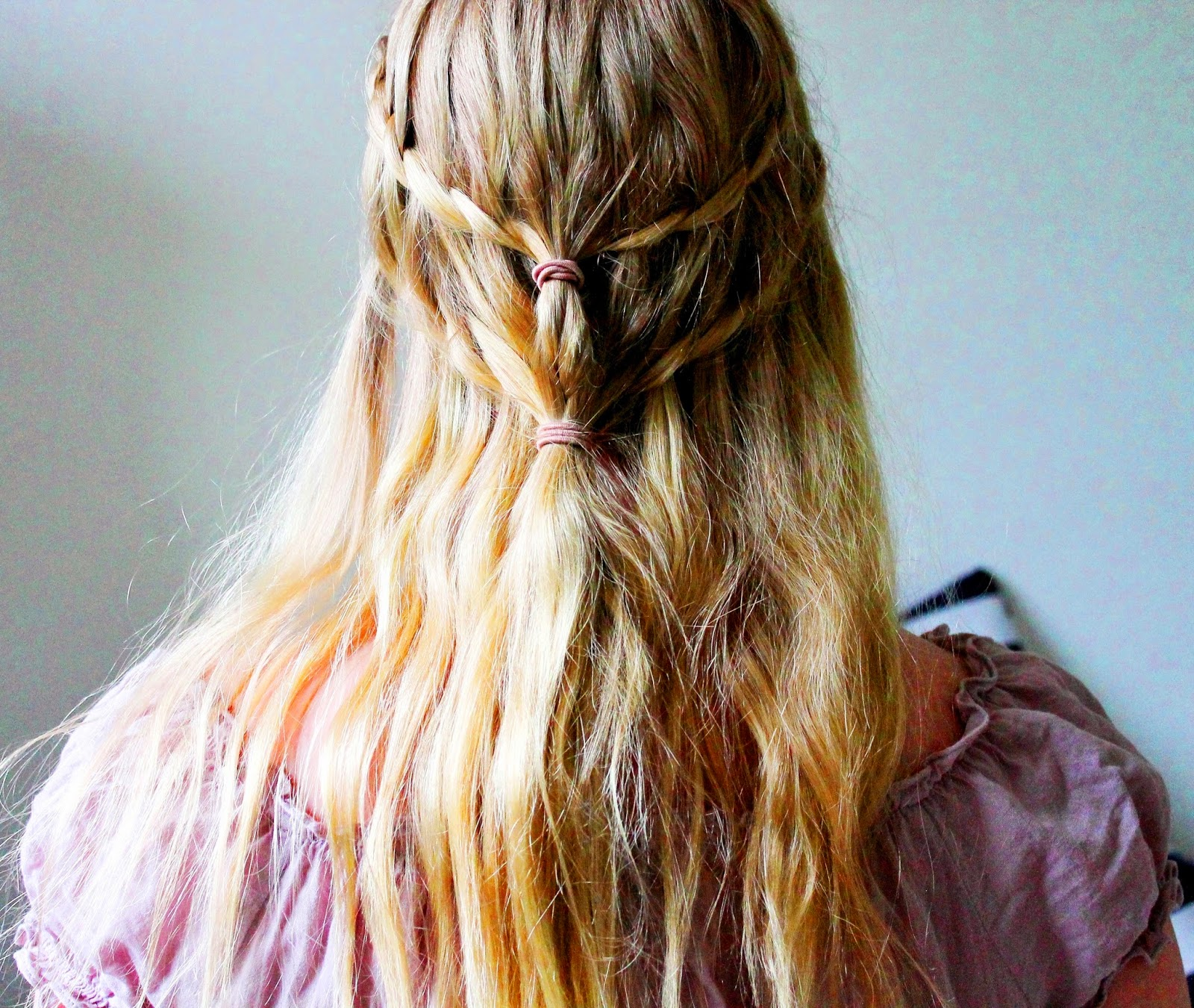 Game of thrones double waterfall braid how to | Alinan kotona blog