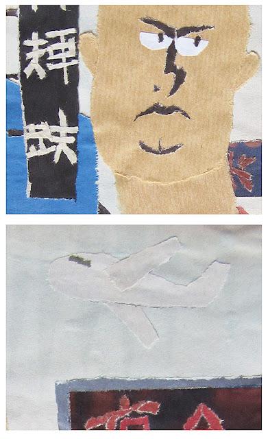 marcos morán ilustración collage, marcos moran illustration collage