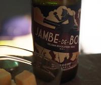 Бельгийское пиво Jambe De Bois