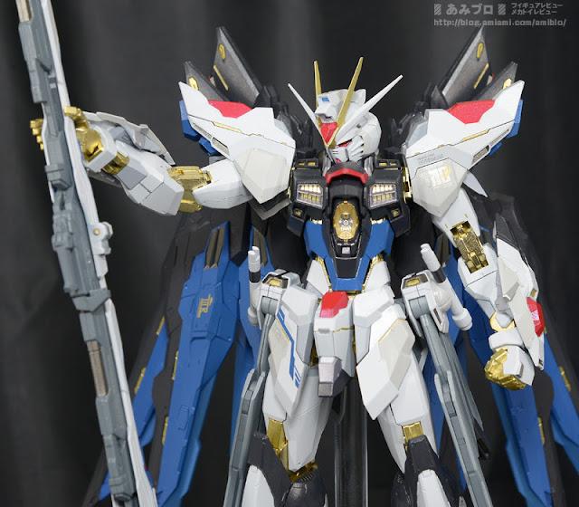 METAL BUILD Strke Freedom Gundam Tamashii Summer Collection 2015 display image 00