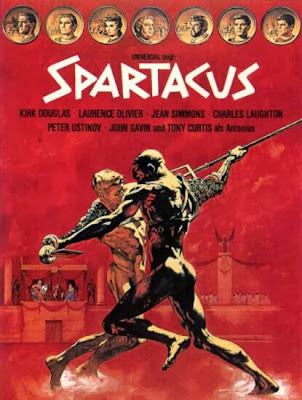 Poster Of Spartacus (1960) Full Movie Hindi Dubbed Free Download Watch Online At worldfree4u.com
