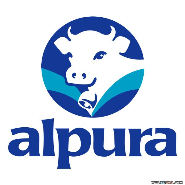 la distribuci u00f3n de alpura junio 2012 cow vector logo cow logo vector free download