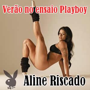 Aline Riscado a Verão da Itaipava nua na Playboy