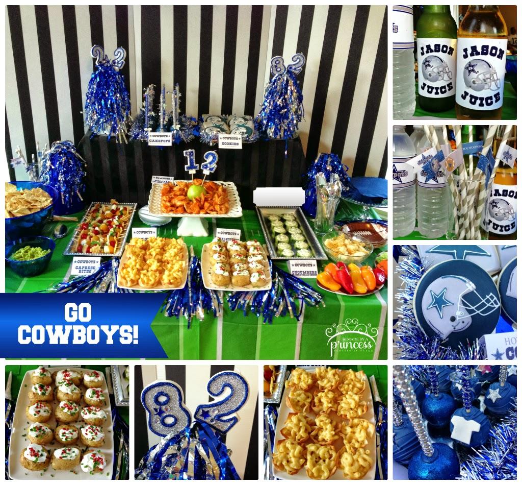 Dallas Cowboys Football Season Kickoff Party