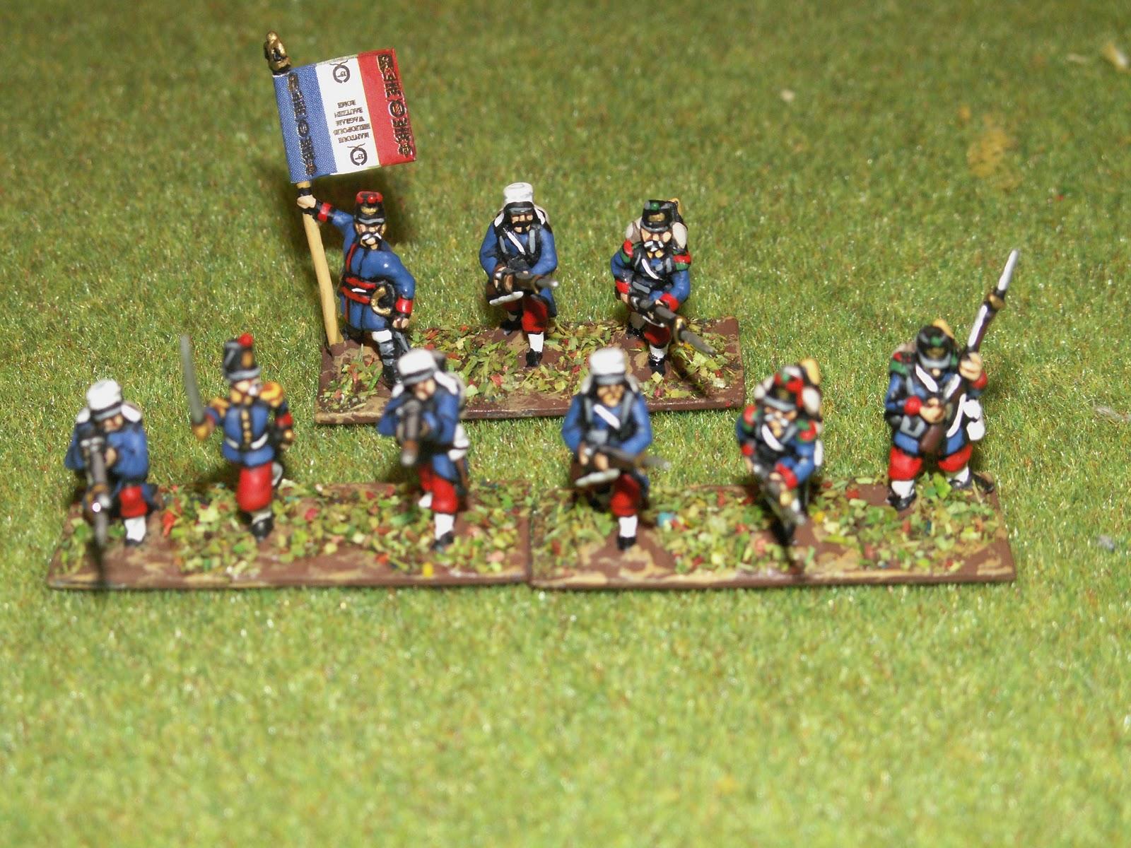 Infanterie en tenue de cagne infanterie en tenue de cagne ancien