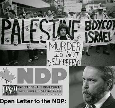 NDP's Mulcair refuses to condemn Israel's attack on Gaza