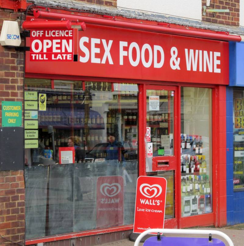 Sex, Food & Wine