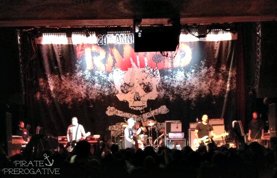 Rancid live at the House of Blues San Diego