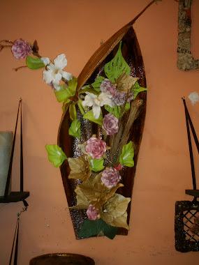 coqueiro com flor de eva