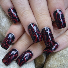 Christmas Nail Art Ideas -24