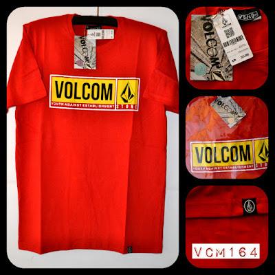 Kaos surfing skate Volcom kode VCM164