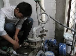 Lắp đặt máy bơm nước quận Tây hồ giá rẻ