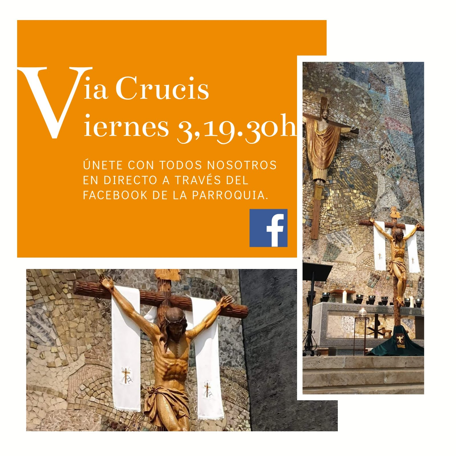Retransmisión del Via Crucis