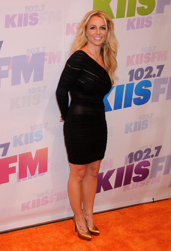 Britney Spears  at 2013 KIIS FM Wango Tango Red Carpet