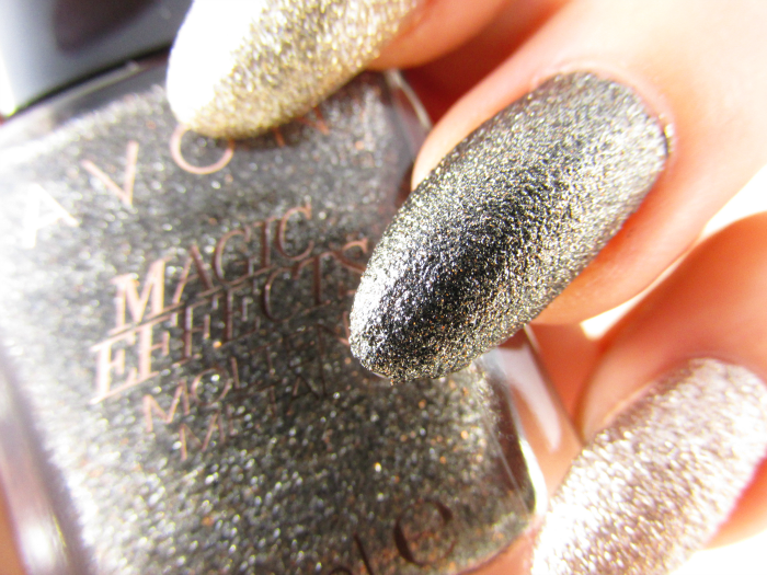 AVON Molten Metal Graphite Nagellack / nailpolish