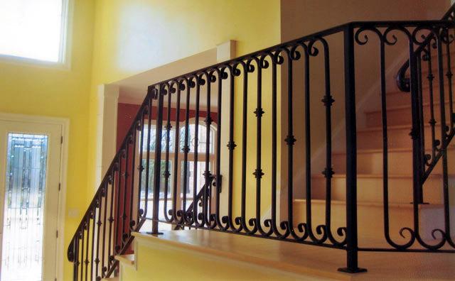 Top Interior Design Wrought Iron Railings