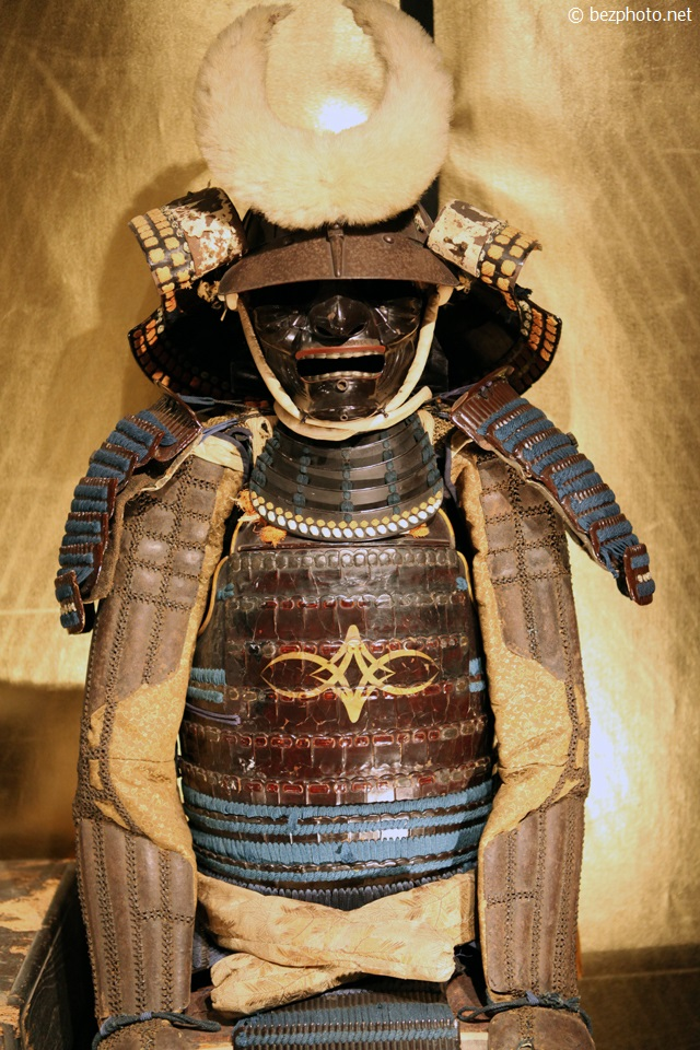 японские доспехи самурая