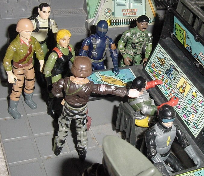 1997 General Hawk, Clayton Abernathy, Toys R Us Exclusive, 1988 Tiger Force Duke, 1997 Zap, European Exclusive Quarrel, Action Force, Z Force, SAS, Blades, Stalker, Snake Eyes, 2003 DVD Release, Plastirama Backstop, Blowtorch, Argentina