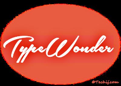 typewonder best web fonts change