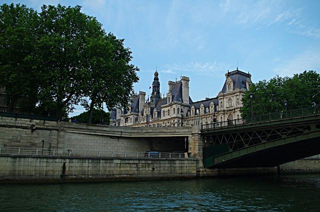 Hôtel de ville - Vue de la Seine poze frumoase Paris images
