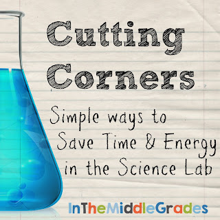 Great list of time savers for doing labs in the science classroom