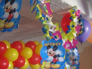 DECORACION MICKEY MOUSE 11 FIESTAS INFANTILES RECREACIONISTAS MEDELLIN