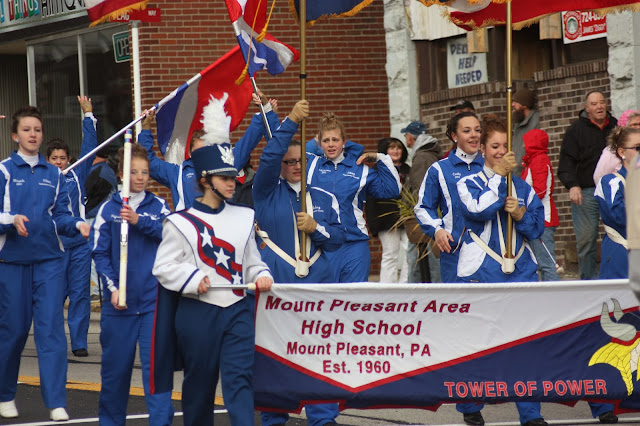 Mt. Pleasant High school band