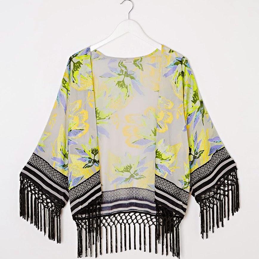 Kimono fringed new 2015