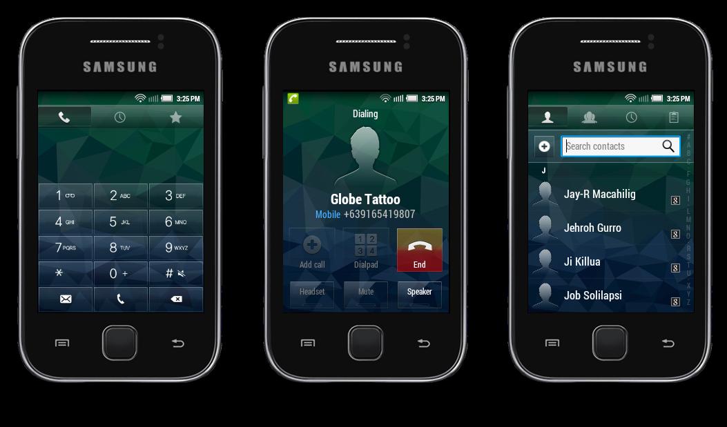 Dialer, phone, contact