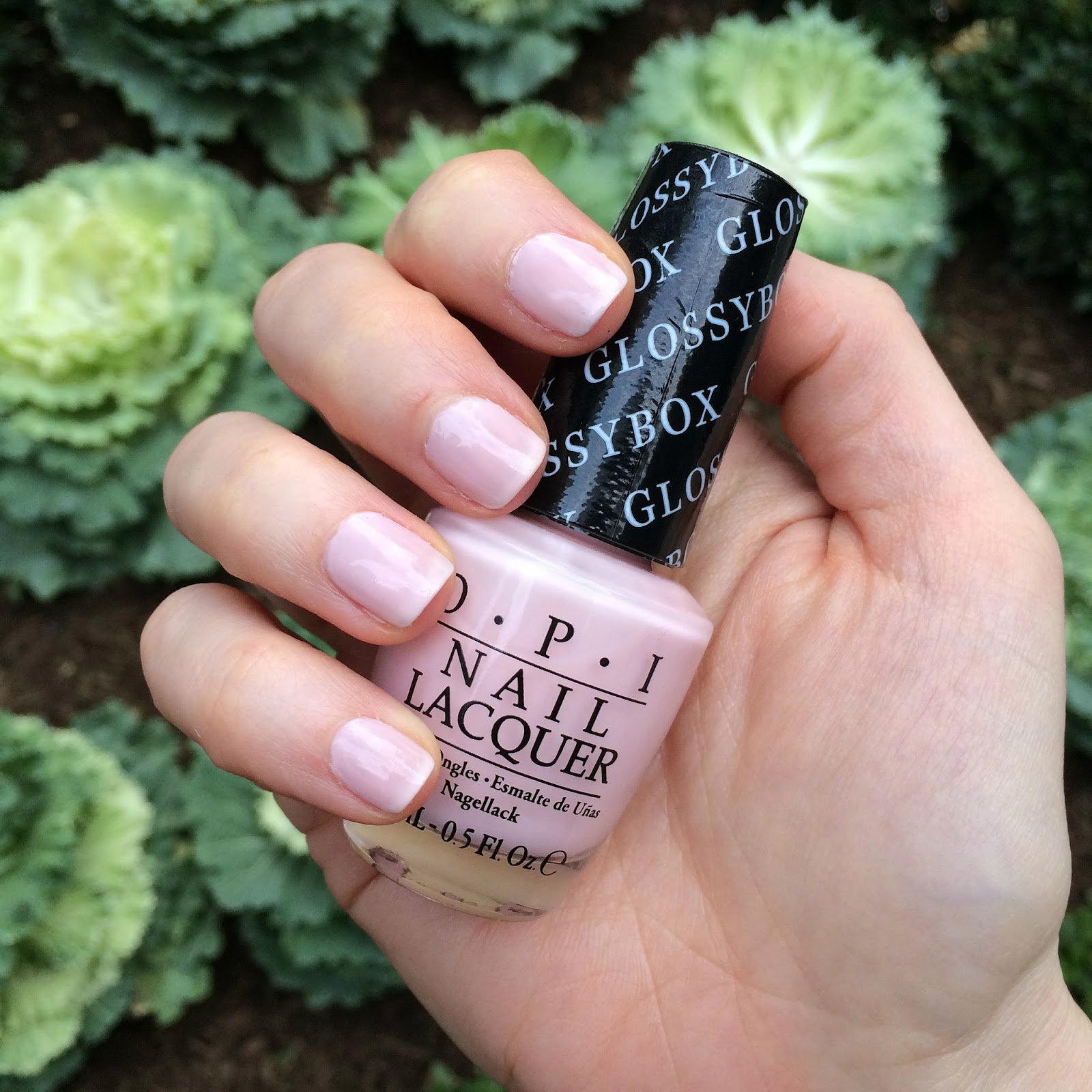 OPI x Glossybox swatches