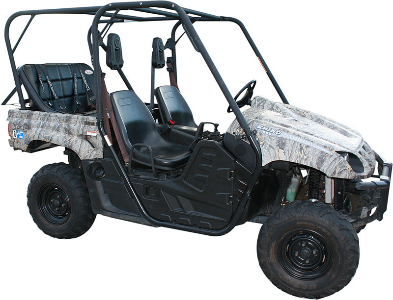 Yamaha Rhino Rear Seat And Roll Cage Kit