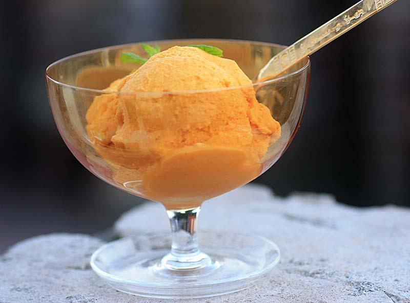 A2K - A Seasonal Veg Table: Carrot Ice-Cream