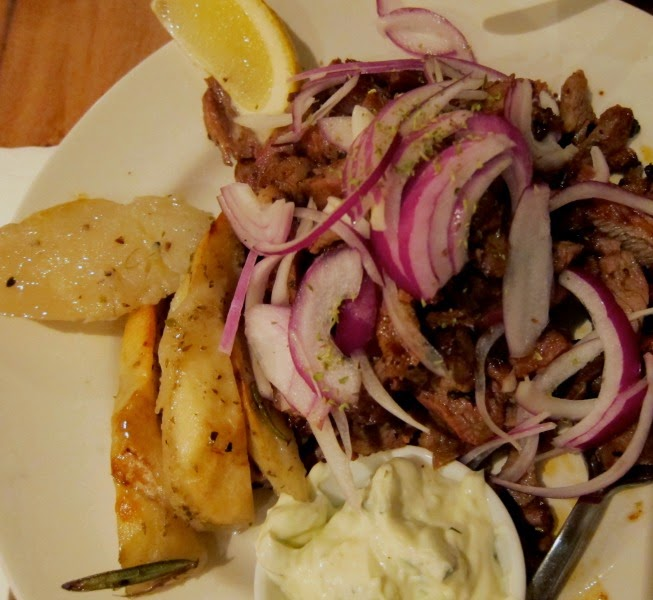 Mesa Greek Cuisine lamb gyros