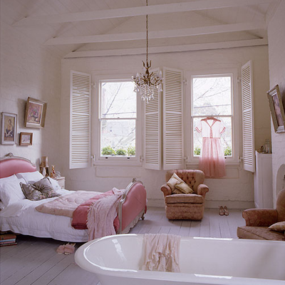 Shabby Chic Bedroom Ideas on Shabby Chic Bedrooms   Luxury Home Interior Design Ideas   Indasro Com