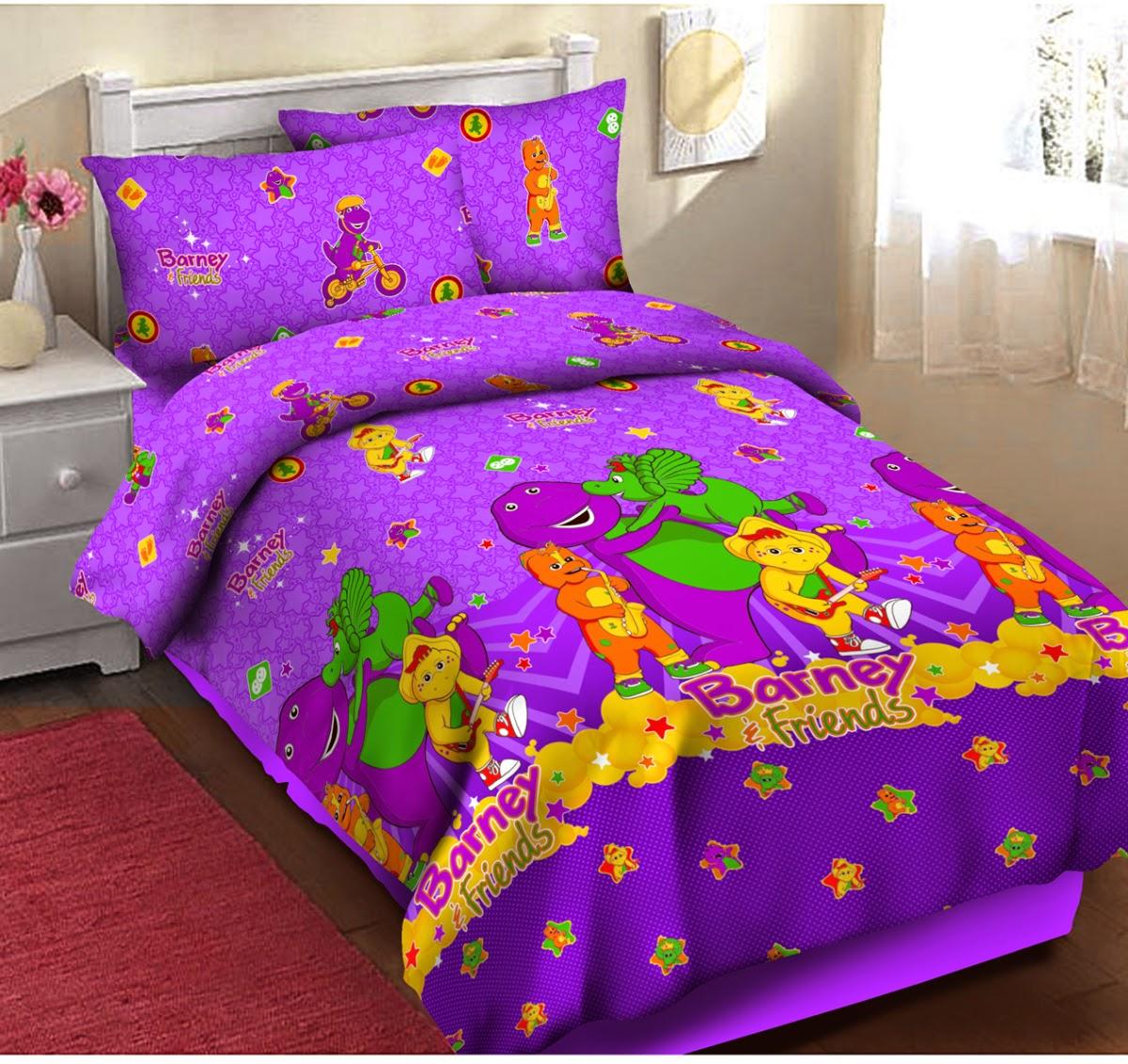 Bed cover my love anak - Sprei Katun Anak