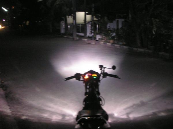 Berbagi Info: Lampu motor lebih terang
