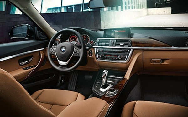 All-New  BMW Seri 3 Gran Turismo dashboard
