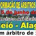 CURSO DE ARBITRAGEM COM ÁRBITRO FIDE ARI MAIA DIAS 12-13-14 E 15 DE JUNHO !