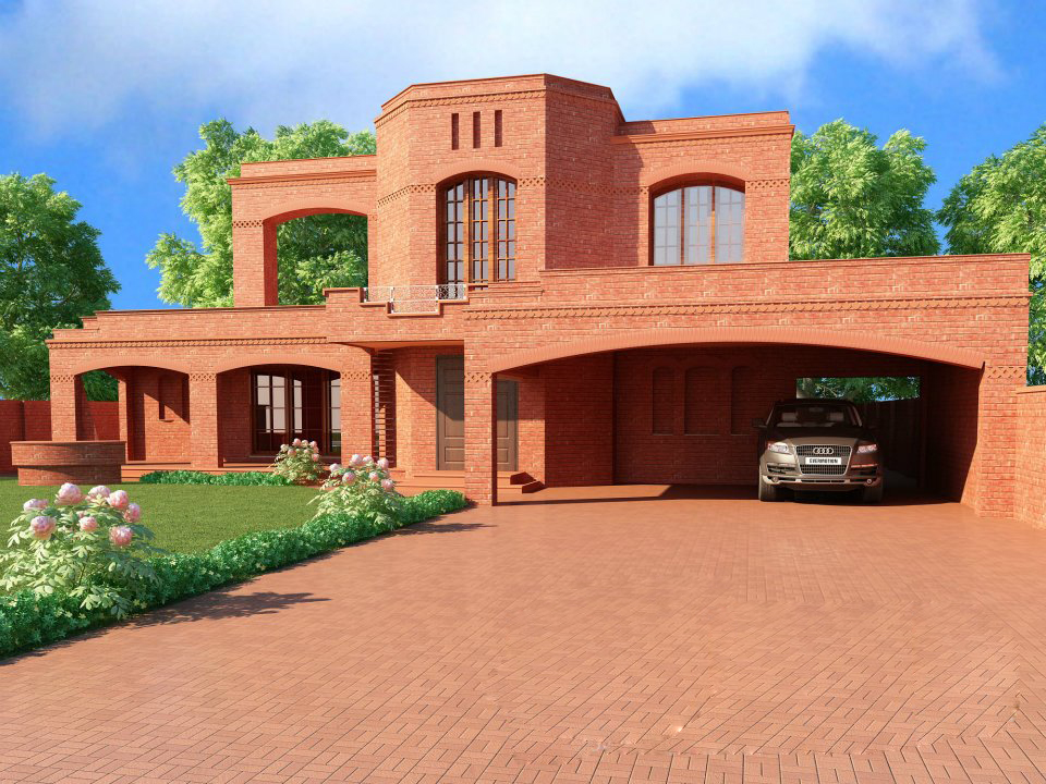 Home design ideas july 2013 for 10 marla home designs in pakistan