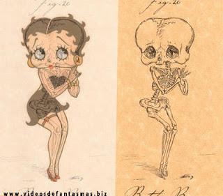 Esqueletos de dibujos