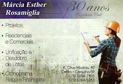 Engenheira Civil Márcia Esther Rosamiglia