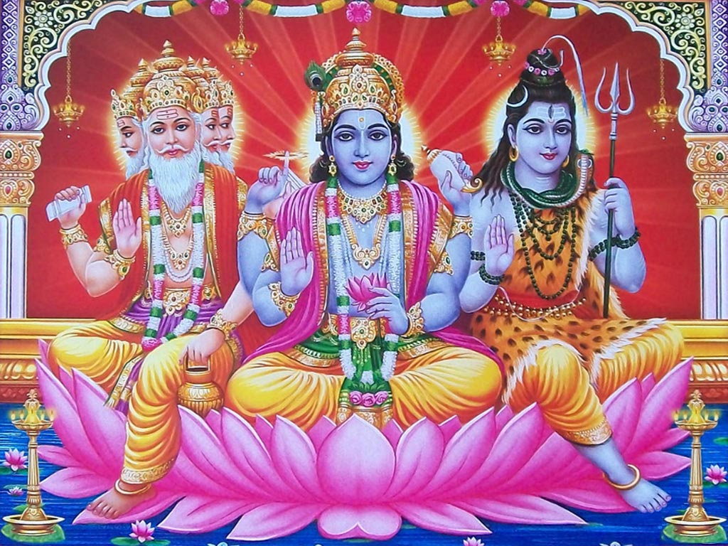 the four different gods of the hindus The different types of hinduism recognize different deities history of  however most hindus seem to agree on a few  there are countless gods and spirits.