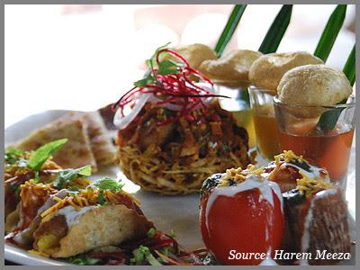 Harem Meeza Chat restaurant Delhi
