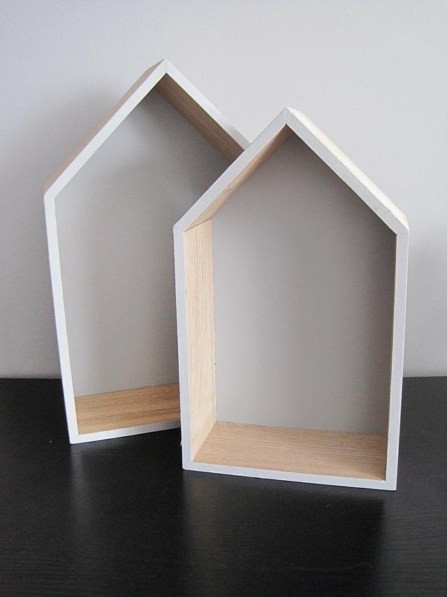 Domki W Skandynawskim Stylu Czyli Półka Ala Domek I Inne