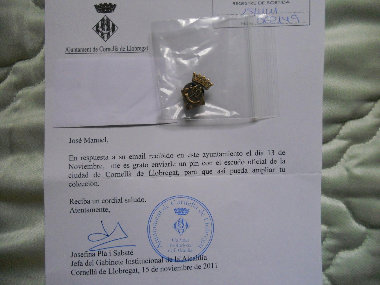 Pinspalomo pueblos de barcelona catalu a for Correos cornella de llobregat