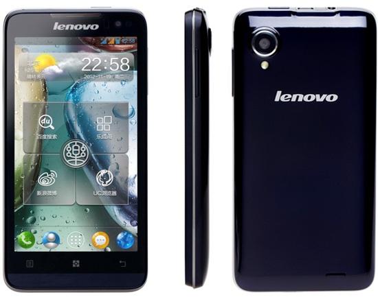 Lenovo IdeaPhone P770 Smartphone dengan Baterai 3500mAh untuk 29 Jam Waktu Bicara