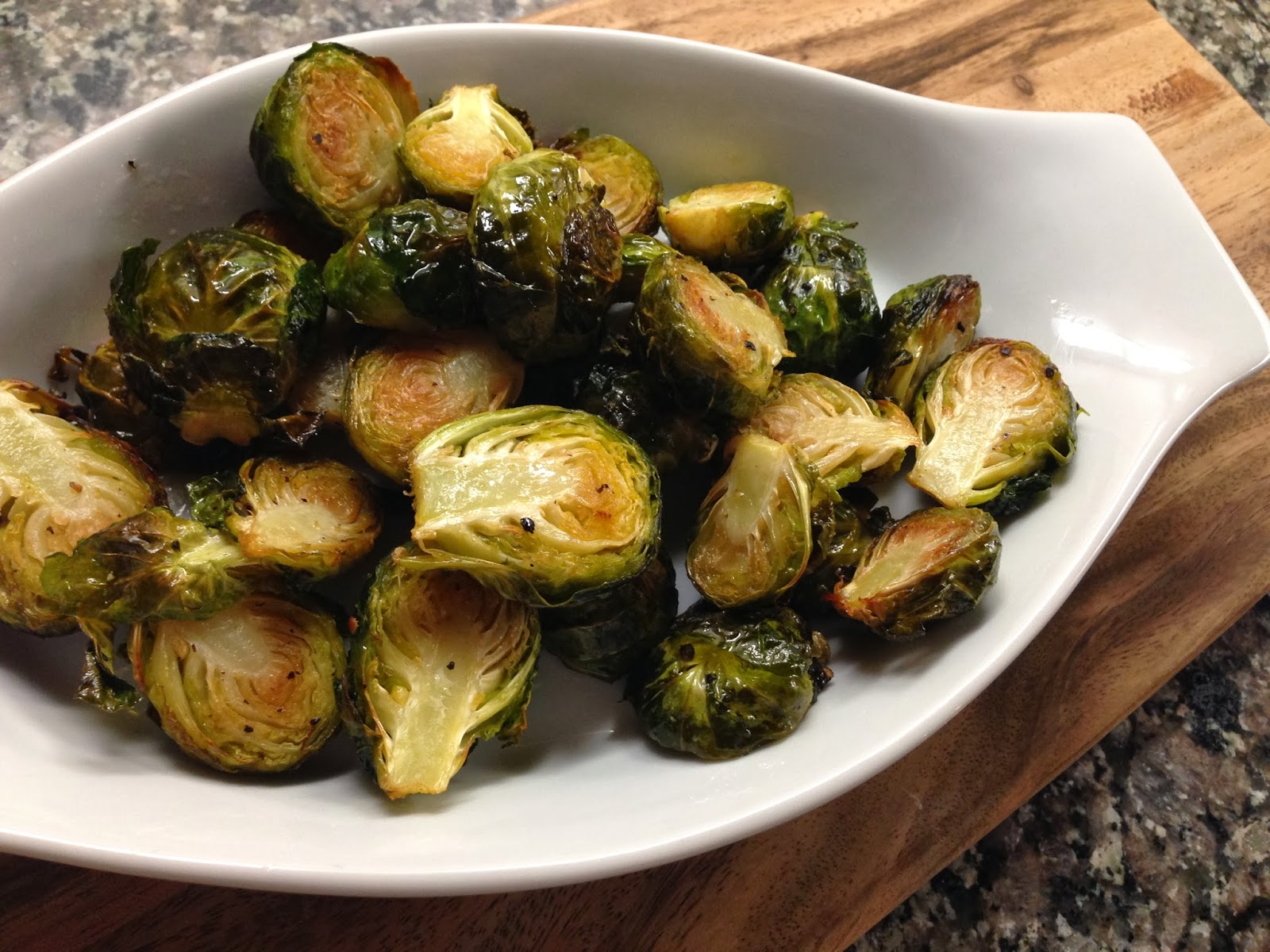 Roasted Brussels Sprouts Recipe — Dishmaps