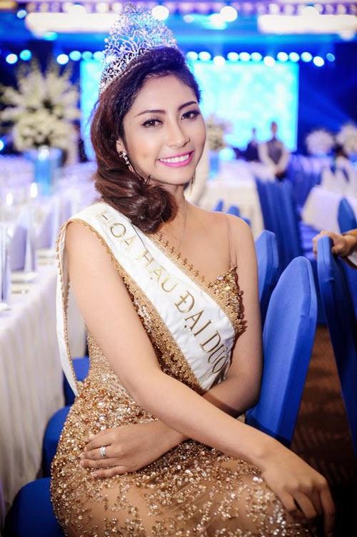 Đặng Thu Thảo dự thi hoa hậu Quốc tế 2014